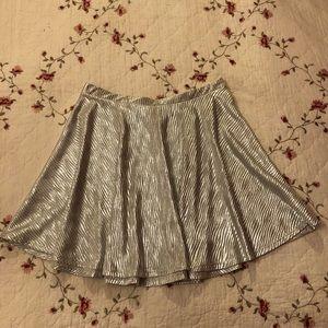 Dresses & Skirts - Silver skirt! 🌸